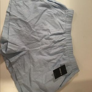 Forever 21 linen blend shorts